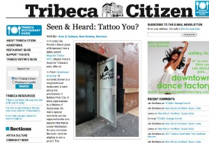 Tribeca Citizen January 2012