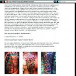 Prick Magazine Page 3 - Adal Tattoo Reviews