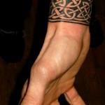 celtic Irish wrist bracelet by Majestic Tattoo
