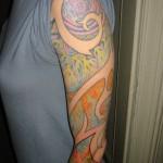 Fractal tattoo by Adal at Majestic Tattoo NYC