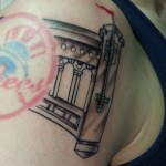 NYC Yankees tattoo by Adal