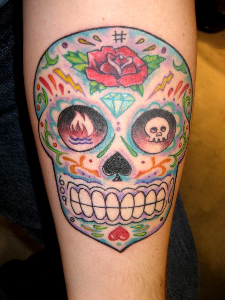 Dia De Los Muertos Tattoos Majestic Tattoo Nyc
