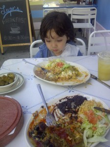 Kaius at Lupe's East LA Kitchen NYC