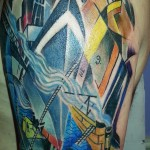 nevinson the arrival tattoo