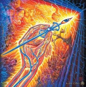 alex grey artists hand