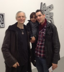 alex grey with tattoo artist adal and son kaius