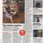 Majestic Tattoo NYC featured in Time Out New York Magazine 2013 Best Tattoo Shops