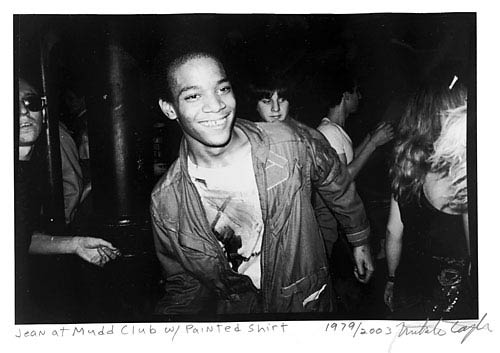 Jean-Michael Basquiat mudd club nyc