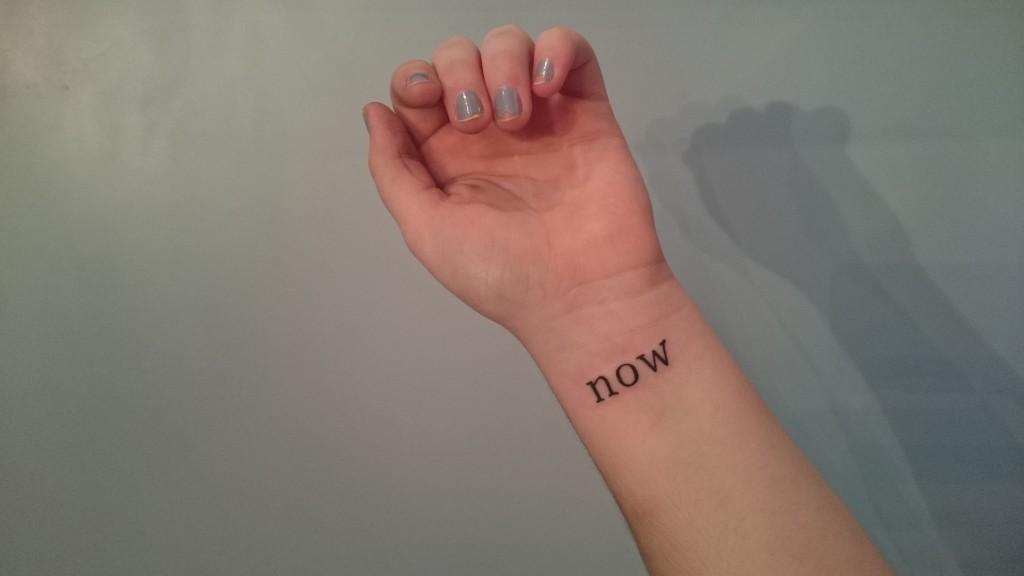 small script wrist tattoo type font